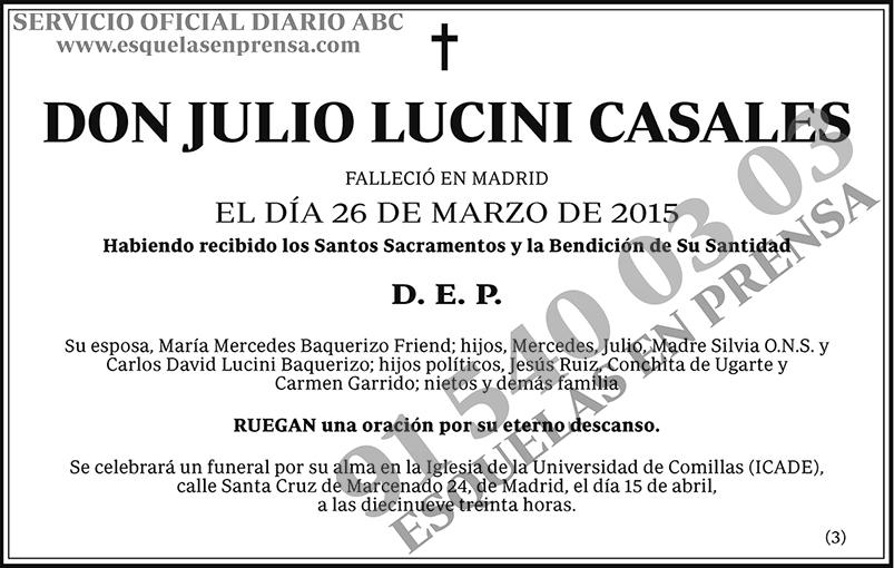 Julio Lucini Casales